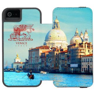Santa Maria della Salute Basilica iPhone SE/5/5s Wallet Case