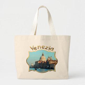 Santa Maria della Salute Basilica Large Tote Bag