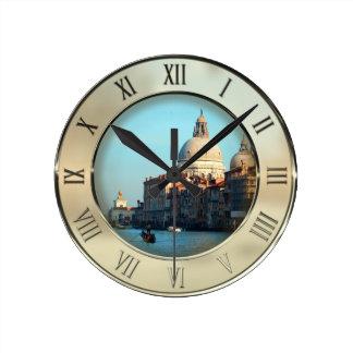 Santa Maria della Salute Basilica Round Clock