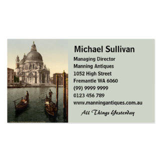 Santa Maria della Salute I, Venice, Italy Double-Sided Standard Business Cards (Pack Of 100)
