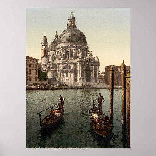Santa Maria della Salute I Venice Italy Poster