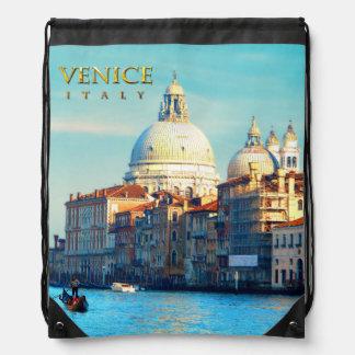 Santa Maria della Salute - Venice Drawstring Backpack