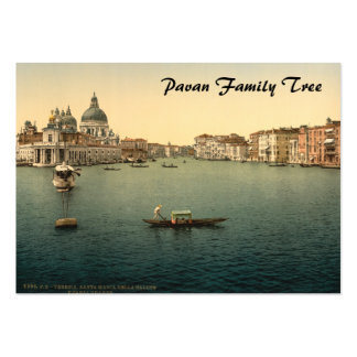 Santa Maria della Salute, Venice, Italy Large Business Cards (Pack Of 100)