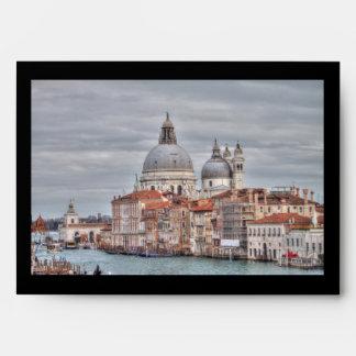 Santa Maria della Salute, Venice Italy Envelope