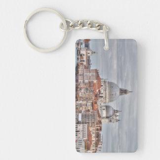 Santa Maria della Salute, Venice Italy Double-Sided Rectangular Acrylic Keychain