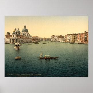 Santa Maria della Salute, Venice, Italy Posters