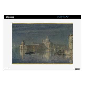 Santa Maria Della Salute, Venice, Moonlight, 1863 Decals For Laptops