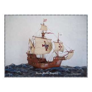 Santa Maria Flagship Picture Posters