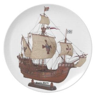 Santa Maria Flagship Plate