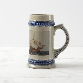 Santa Maria Flagship Stein Coffee Mug