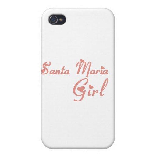 Santa Maria Girl tee shirts iPhone 4/4S Cover
