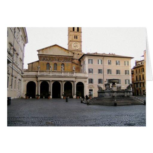 Santa Maria in Trastevere Cards
