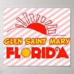 Santa María, la Florida la cañada Posters