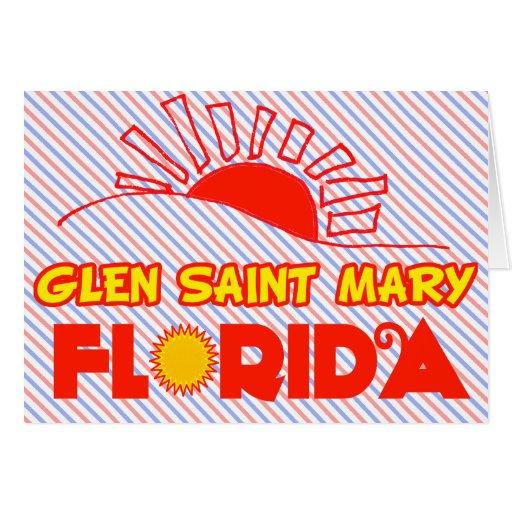 Santa María, la Florida la cañada Tarjeta