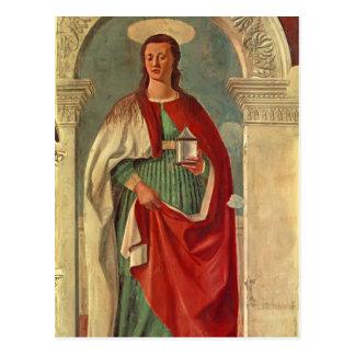 Santa María Magdalen Francisca del della de Piero Tarjetas Postales