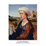 Santa María Magdalena. Por Rogier van der Weyden Tarjeta Postal