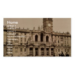 Santa María Maggiore, obra clásica Photochr de Rom Tarjeta Personal