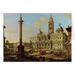 Santa María Maggiore, Roma, 1739 Felicitacion