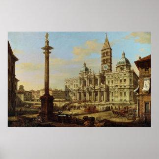 Santa María Maggiore, Roma, 1739 Impresiones