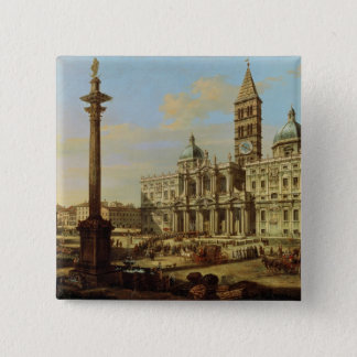 Santa Maria Maggiore, Rome, 1739 Pinback Button