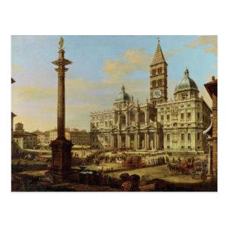 Santa Maria Maggiore, Rome, 1739 Post Card