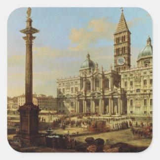 Santa Maria Maggiore, Rome, 1739 Sticker