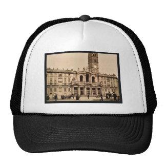 Santa Maria Maggiore, Rome, Italy classic Photochr Trucker Hat