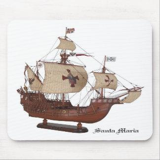Santa Maria Mouse Pad