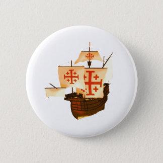 Santa Maria Pinback Button