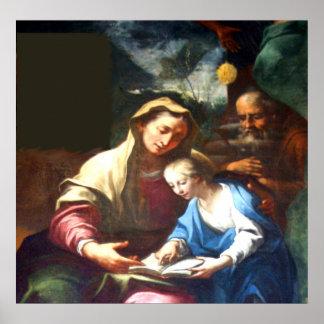 Santa Maria Poster