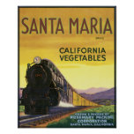 Santa María Posters