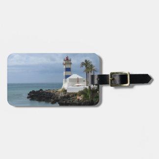 Santa Marta lighthouse Bag Tag