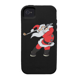 Santa Means Business iPhone 4/4S Cases