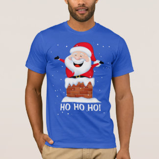 Santa Men's Basic American Apparel T-Shirt