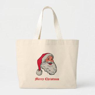 Santa Merry Christmas Bag