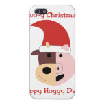 Santa Moink Christmas custom case Cases For iPhone 5
