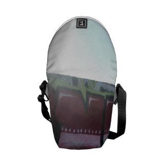 santa monica beach 2 messenger bags