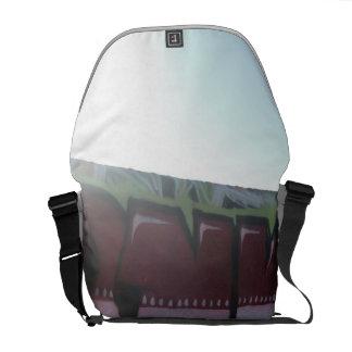 santa monica beach 2 messenger bag