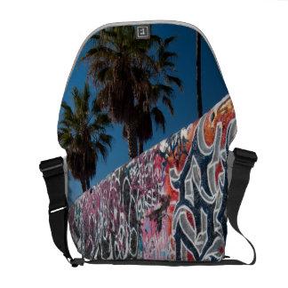 santa monica beach courier bag