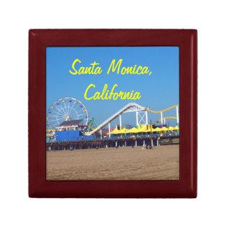 Santa Monica Beach Pier Gift Box