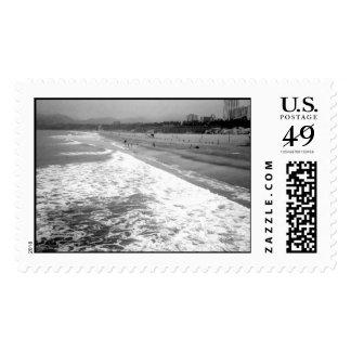 Santa Monica Beach Stamps