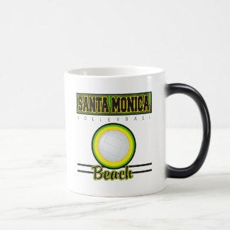 Santa Monica Beach Volleyball Mugs