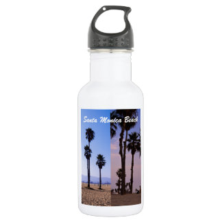 Santa Monica Beach Water Bottle