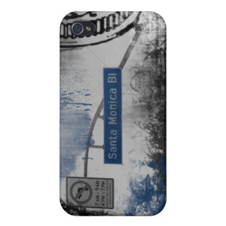 Santa Monica Bl Sign Case For iPhone 4