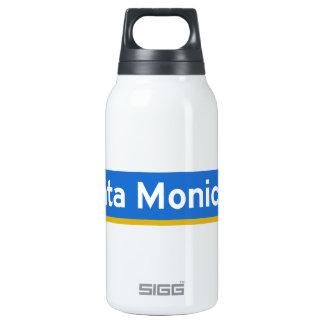 Santa Monica Boulevard, Los Angeles, CA Street Sig Thermos Water Bottle