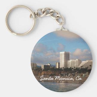 Santa Monica, Ca. Keychain