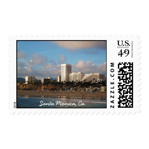 Santa Monica, Ca. Postage Stamps