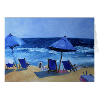 Santa Monica, California Beach Card