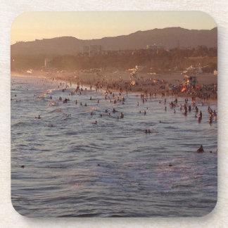 Santa Monica, California Beach Coasters