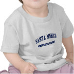 Santa Monica California College Style tee shirts